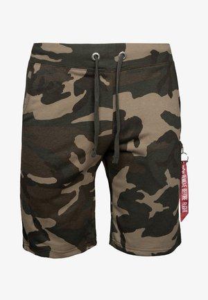 Shorts - woodland camo