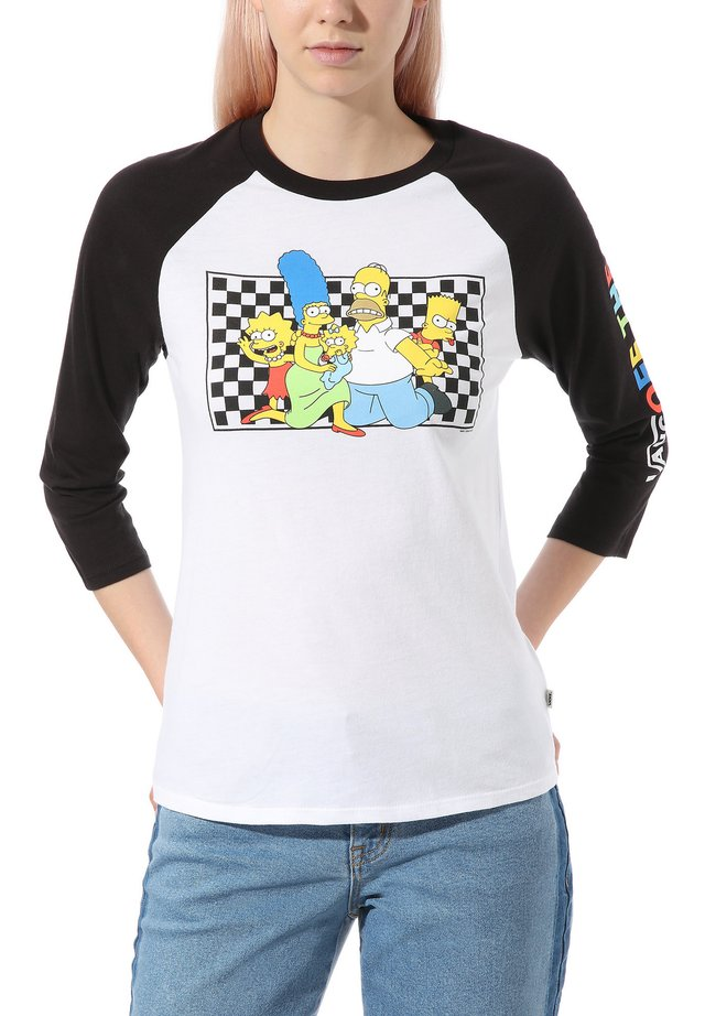 THE SIMPSONS FAMILY RAGLAN - T-shirt à manches longues - (the simpsons) family