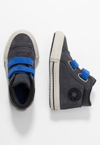 Converse - CHUCK TAYLOR ALL STAR ON MARS - Sneakers alte - almost black/blue/birch bark - 0