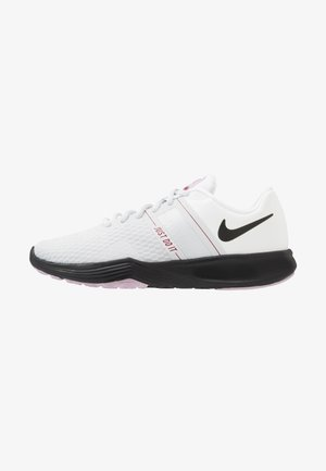 CITY TRAINER 2 - Obuwie treningowe - white/black/pure platinum/noble red/iced lilac/pistachio frost