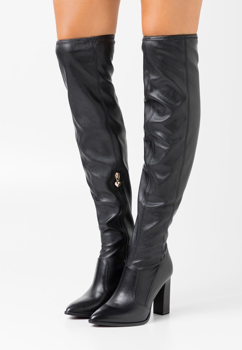 Tamaris Heart & Sole - BOOTS - Kozačky na vysokém podpatku - black