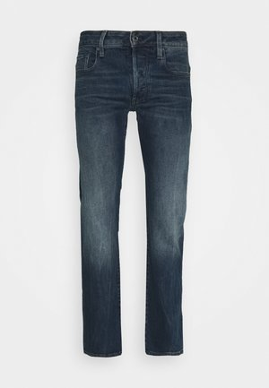 3301 STRAIGHT - Džíny Straight Fit - struma stretch denim