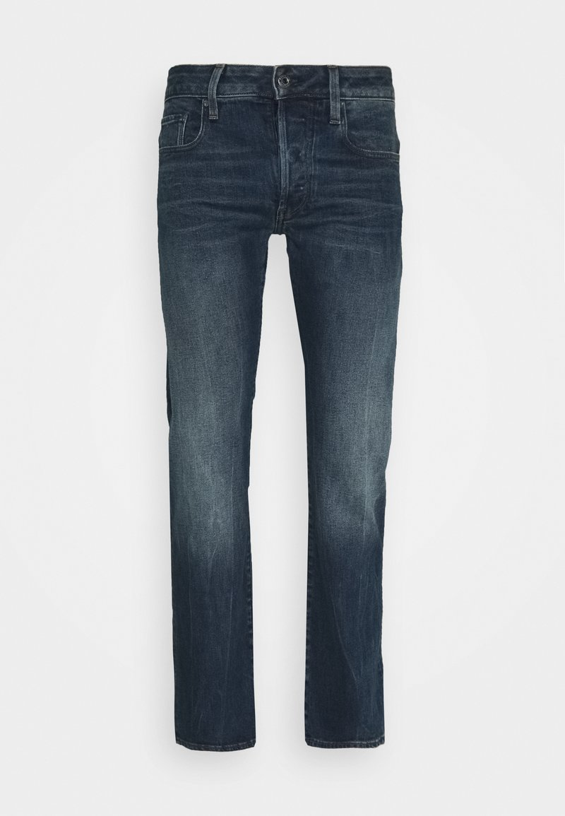 G-Star - 3301 STRAIGHT - Straight leg jeans - struma stretch denim