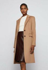 BOSS - CURIA - Classic coat - light brown - 3