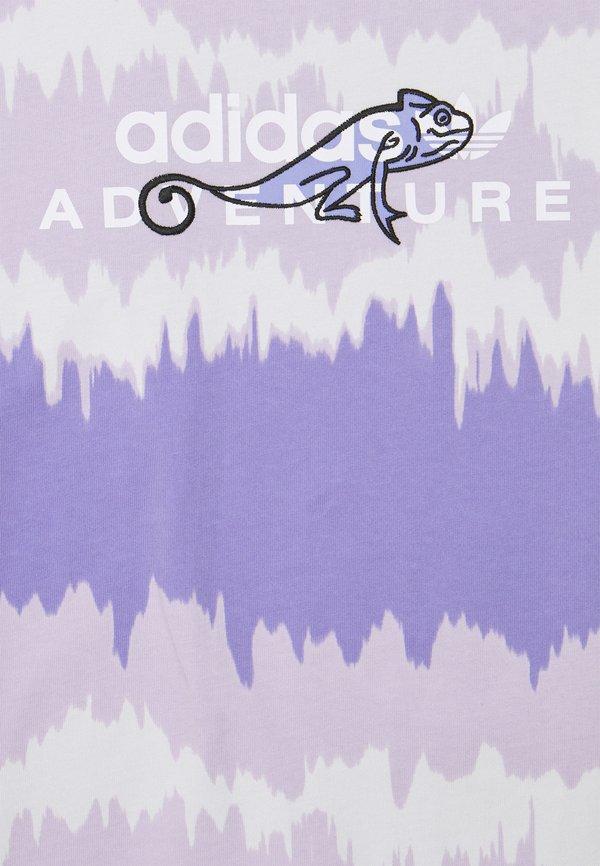 adidas Originals UNISEX - T-shirt z nadrukiem - light purple/fioletowy Odzież Męska NHYQ