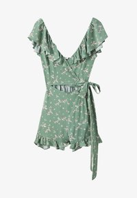 PULL&BEAR - CUT-OUT-DETAIL - Jumpsuit - green - 0