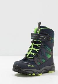 Lurchi - LORIUS SYMPATEX - Winter boots - navy - 2