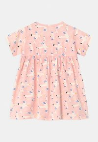 The Bonnie Mob - LOLL SHORT SLEEVE WITH POCKETS - Jersey dress - white/pink - 1