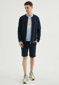 WESTMARK LONDON - CORE - Zip-up sweatshirt - total eclipse - 1