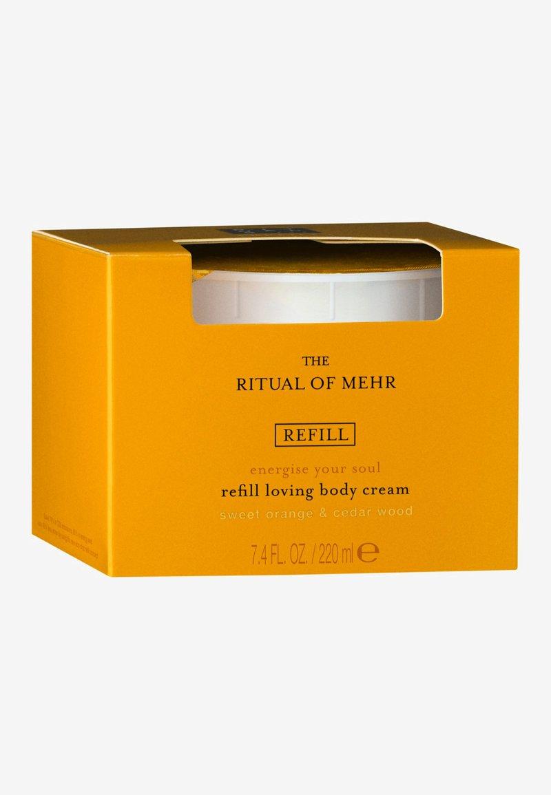 Rituals - THE RITUAL OF MEHR BODY CREAM REFILL - Moisturiser - -