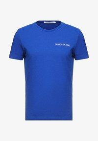 Calvin Klein Jeans - SMALL INSTIT LOGO CHEST TEE - Basic T-shirt - blue - 3