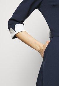 HUGO - DARTINA - Denní šaty - open blue - 4