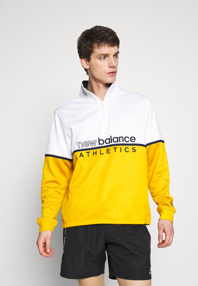 ATHLETICS TRACK ZIP - Sweatshirt - varsgold