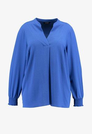SHIRRED CUFF  - Blůza - cobalt blue
