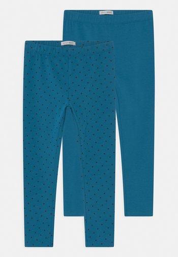 SMALL GIRLS 2 PACK - Legging - blue saphire