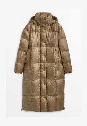 LANGER GESTEPPTER - Winter coat - ochre