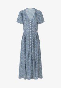 OYSHO - Shirt dress - blue - 4