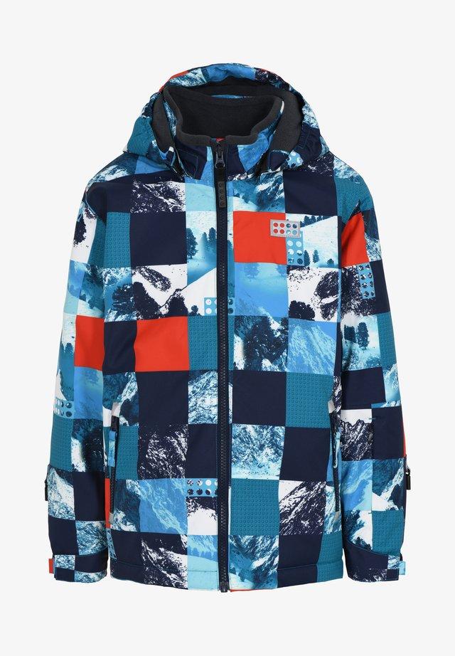 Ski jacket - dark turquoise