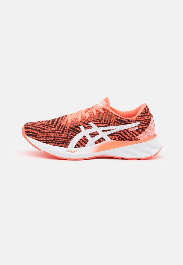 ROADBLAST TOKYO - Neutral running shoes - sunrise red/white