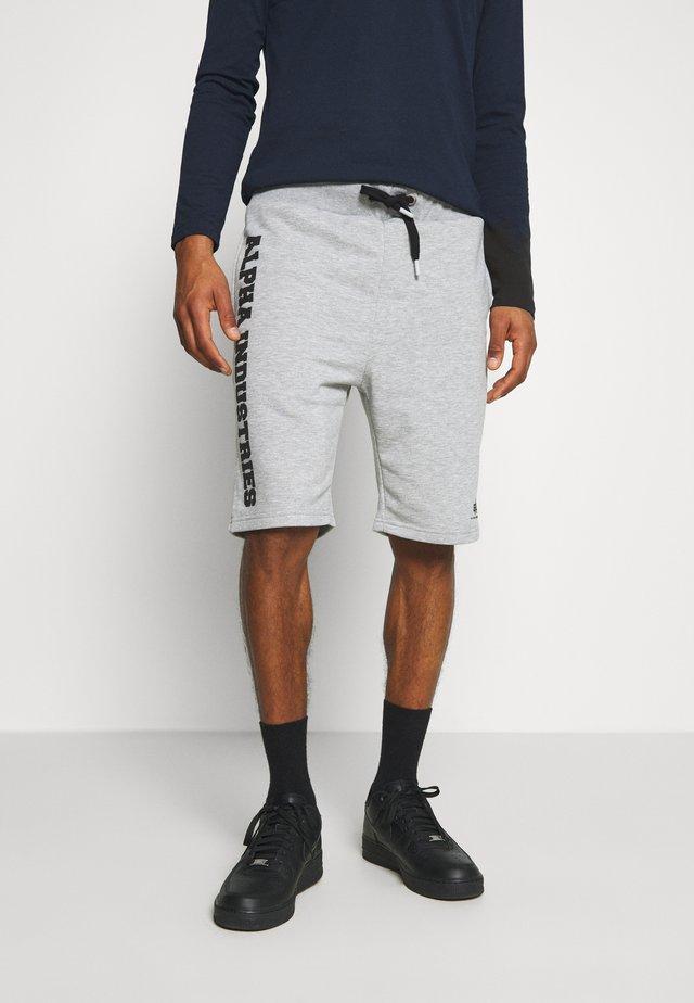 BIG LETTERS SHORT - Shorts - grey heather