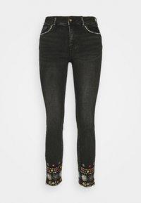 Desigual - LESLIE - Jeans Skinny Fit - denim black wah - 5