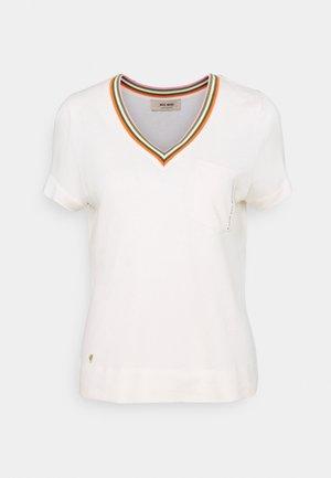 MARILYN TEE - Print T-shirt - ecru