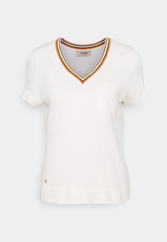 MARILYN TEE - T-shirts print - ecru