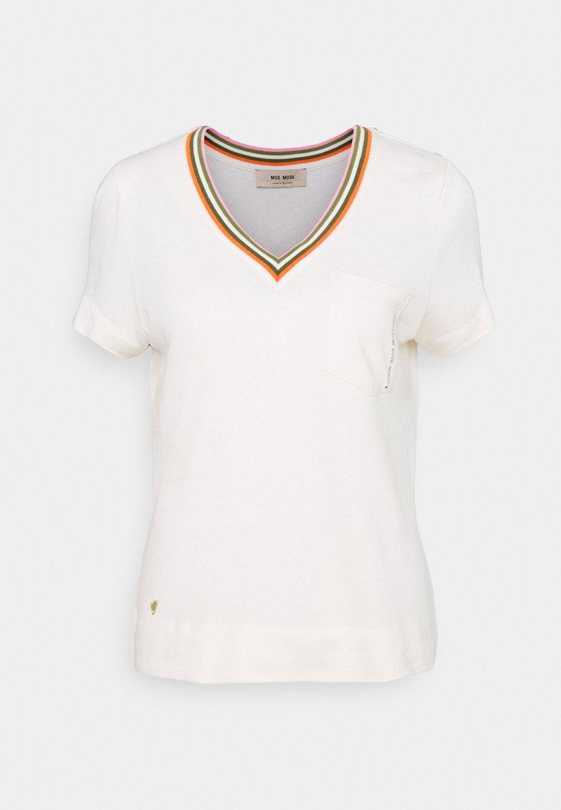 Mos Mosh - MARILYN TEE - Print T-shirt - ecru