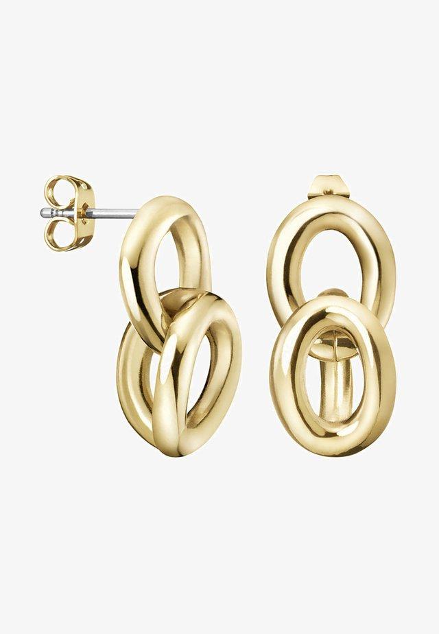 Earrings - champagner