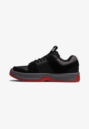 LYNX - Trainers - black/grey/red