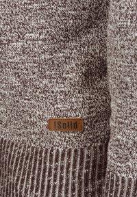 Solid - REGULAR FIT - Cardigan - brown - 4