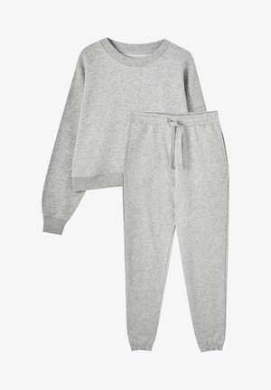 Tracksuit - mottled grey