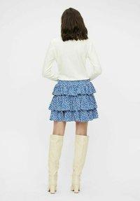 Object - Pleated skirt - sky captain - 2