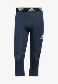 adidas Performance - TECHFIT 3/4 3-STRIPES TIGHTS - Leggings - blue - 6