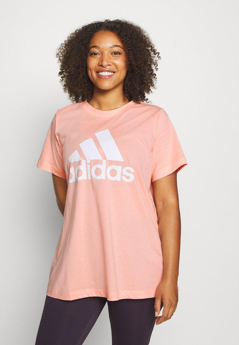 adidas Performance - Print T-shirt - hazcor