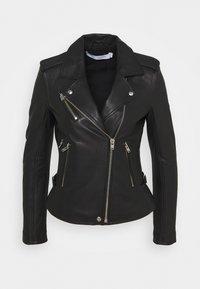 Iro - NEWHAN - Leather jacket - black - 0