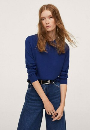 LUCAS - Stickad tröja - blue
