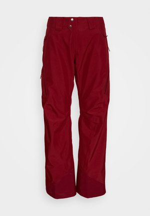 POWDER BOWL PANTS - Pantaloni da neve - roamer red