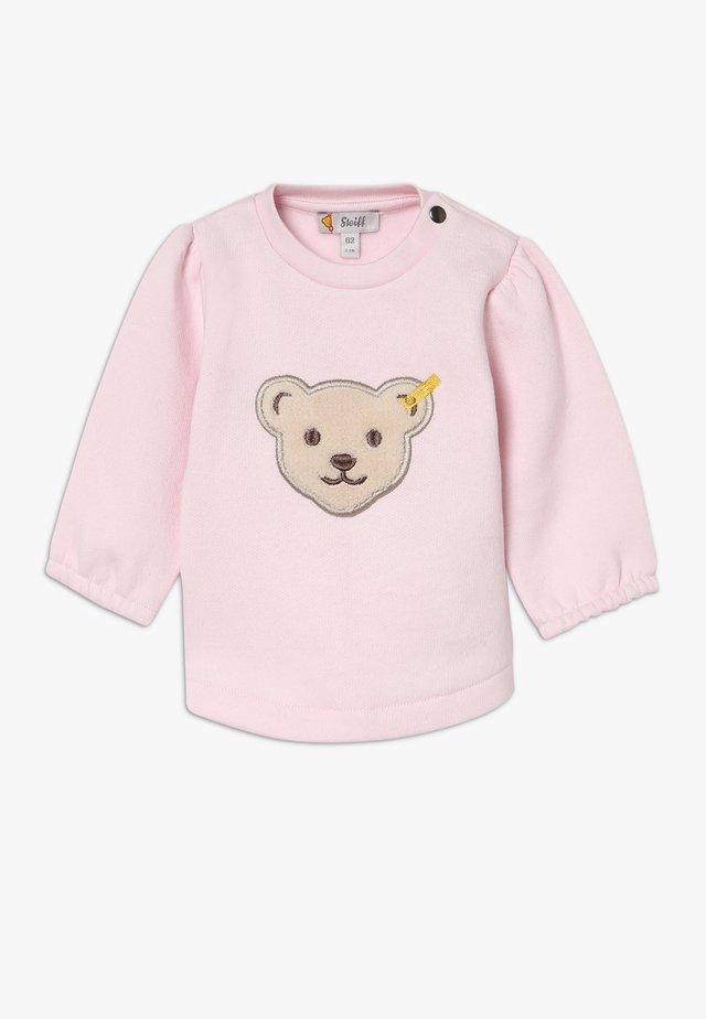 GIRLS BEAR BABY - Felpa - pink