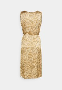 Mos Mosh - SHEA ZEBRA DRESS - Day dress - incense - 1