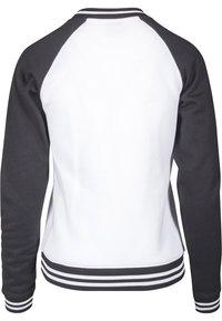 Urban Classics - Sweatshirt - white/black - 1