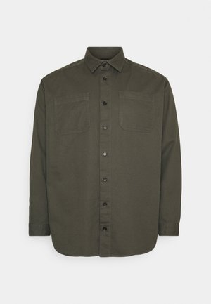 JPRBLALINEN OVERSHIRT - Shirt - deep depths