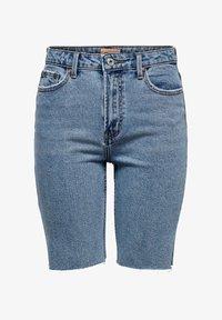 ONLY - JEANSSHORTS ONLEMILY HW LONG - Jeansshorts - light blue denim - 5