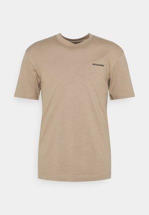 TEE O NECK - T-shirt basic - crockery