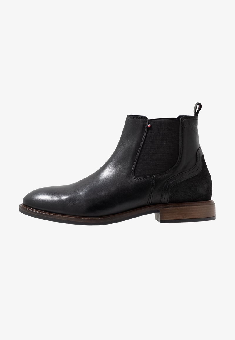Tommy Hilfiger - ELEVATED MIX CHELSEA - Classic ankle boots - black