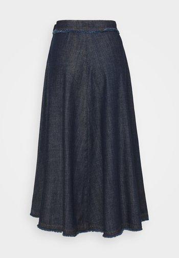 ASTORIA - Denim skirt - blau