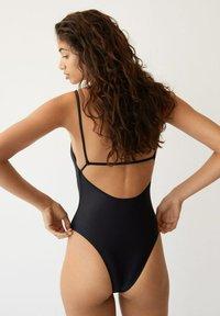 Mango - BABY - Swimsuit - svart - 2