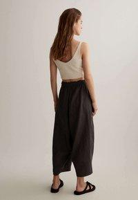 OYSHO - Trousers - dark grey - 2