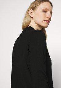 Marc O'Polo - DRESS LONGSLEEVE COLLAR WITH - Jumper dress - black - 4