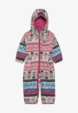 GIRLS ONESIE - Combinaison de ski - multicolored